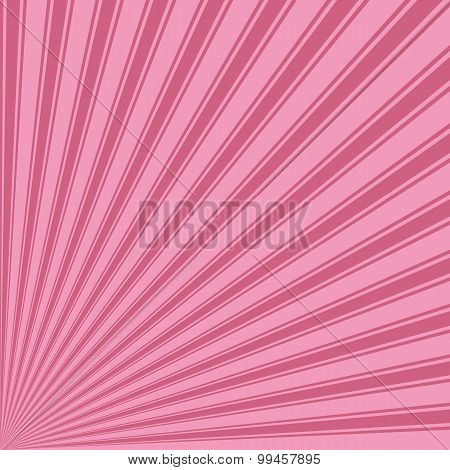 Amaranth pink Color Stripe Funky Sun Rays Backgound