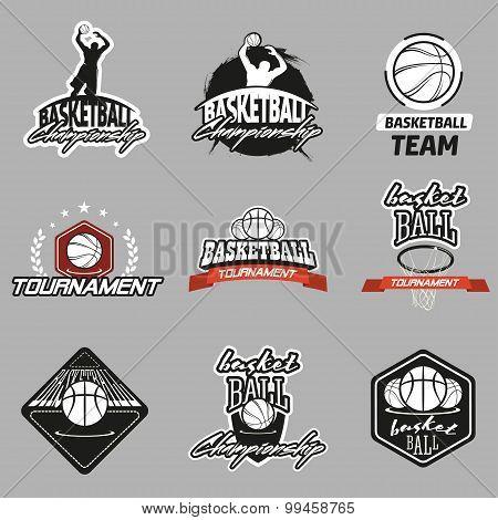 Basketball Emblem