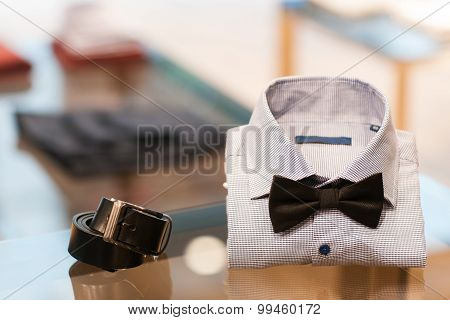 Set Of Man's Accessories. Menswear