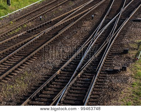 Railway, Wagon, Rail, Trains