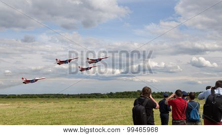 Off Aircraft Aerobatic Team Swifts