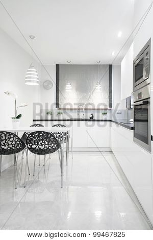 Gleaming Kitchen Interior