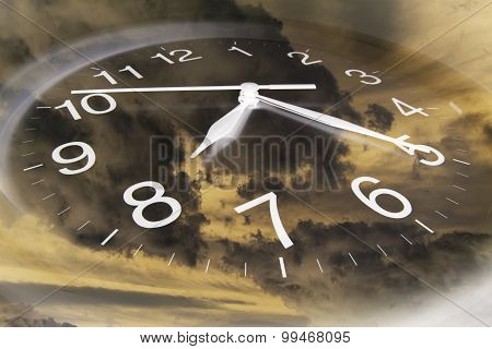 CClouds And Clock