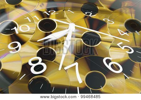Clock And Cds
