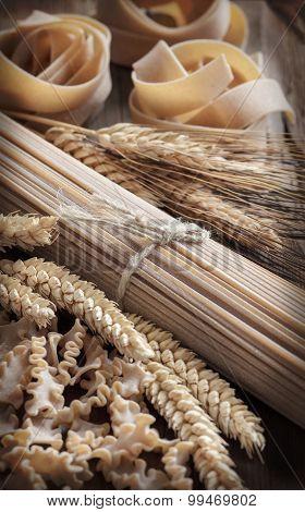 Whole Wheat Italian Pasta With Spikes