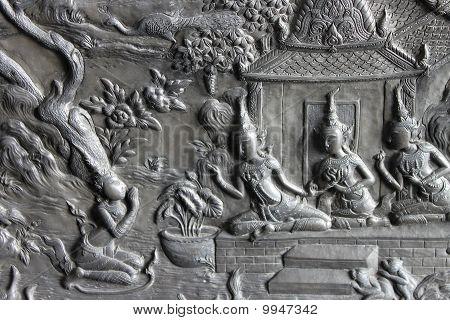 Thai Art In The Erawan Museum