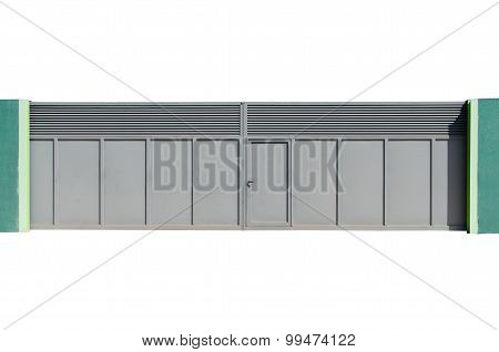 Metallic Gate Isolated