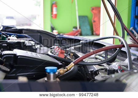 Car Refilling Air Condition