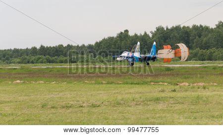 Landing Su-27
