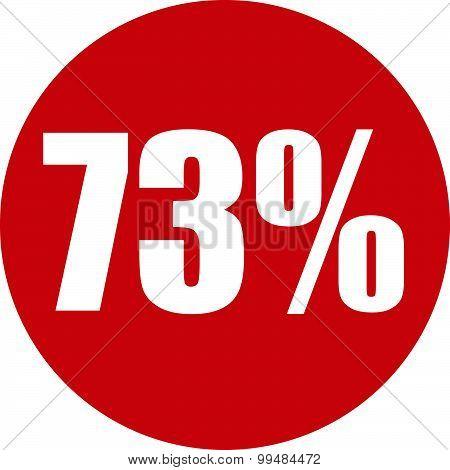 73 Percent Icon