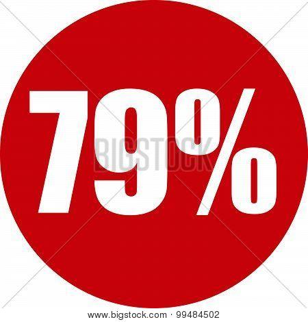 79 Percent Icon
