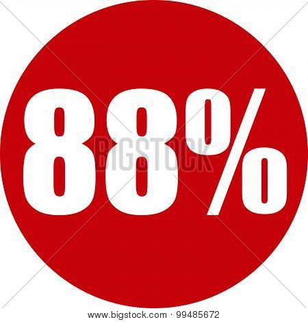 88 Percent Icon