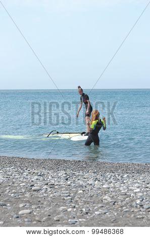 Serfing training