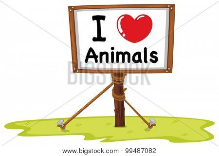 I love animal sign illustration
