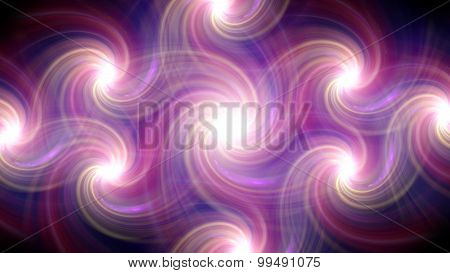 Twirl Flare Pattern Pink Line Fade Out