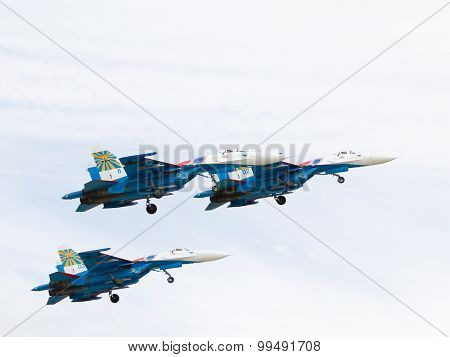 Three Powerful Military Su-27