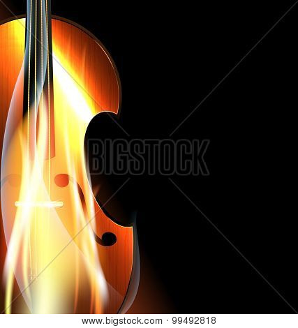 burning fiddle