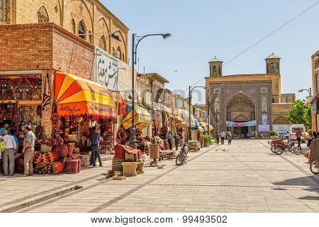 Shiraz square Bazaar E- Vakil