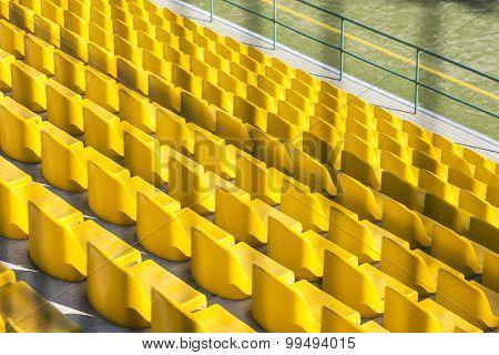 Yellow seats