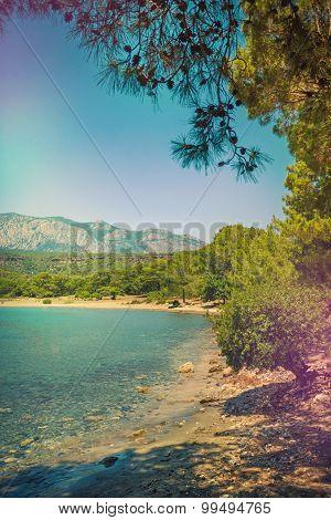 Mediterranean coast, Turkey Kemer