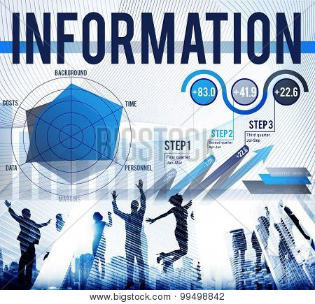 Information Data Global Communication Media Concept
