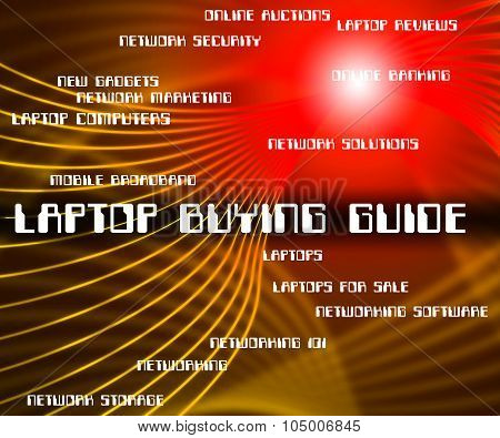 Laptop Buying Guide Indicates Advising Advise And Lead