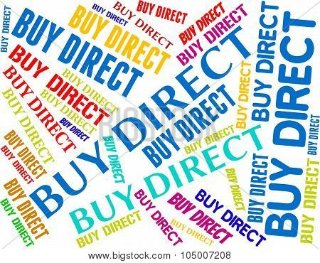 Buy Direct Represents From Distributor And Bought