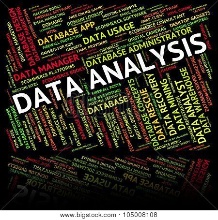 Data Analysis Shows Investigates Research And Analytics
