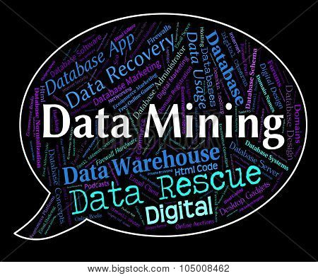 Data Mining Indicates Facts Mined And Fact