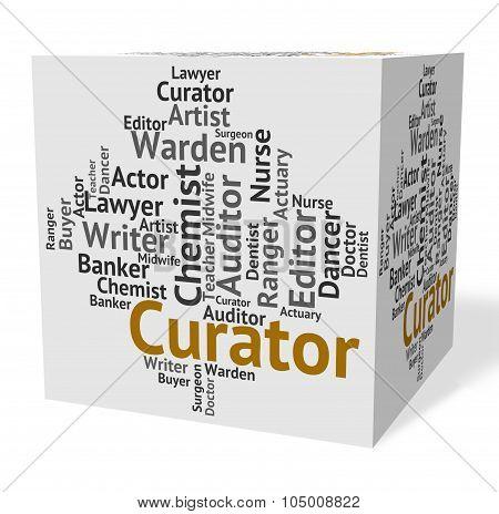 Curator Job Represents Curators Hire And Guardian