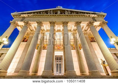 Parliament, Vienna, Austria