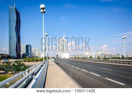 Danube City, Vienna, Austria