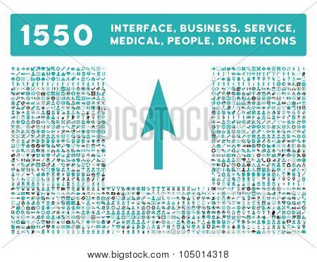 Arrow Axis Y Icon And More Interface, Business, Tools, People, Medical, Awards Flat Glyph Icons