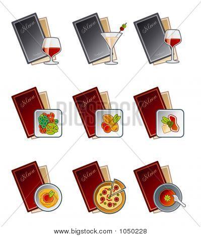 Design-Elemente 47 C. Menü Icons Set