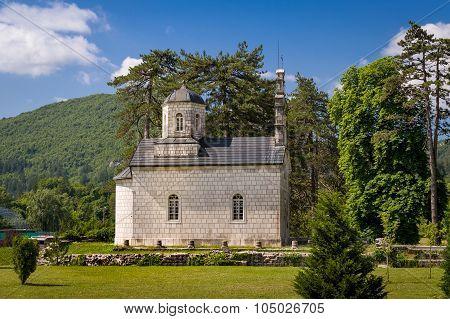 The Vlaska Court Church in Cetinje, Montenegro