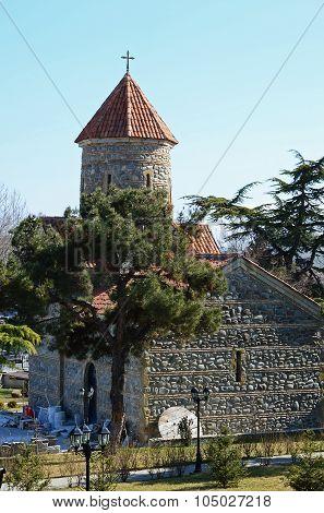 The Church In The Center Of Gori, Georgia