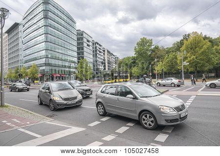 Ebertstrasse, Berlin.