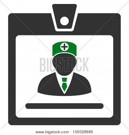Doctor Badge Icon