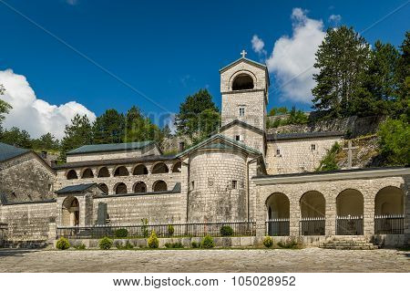Cetinje old Monastery Nativity of the Blessed Virgin Mary, Montenegro