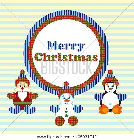 Christmas Card Vektor