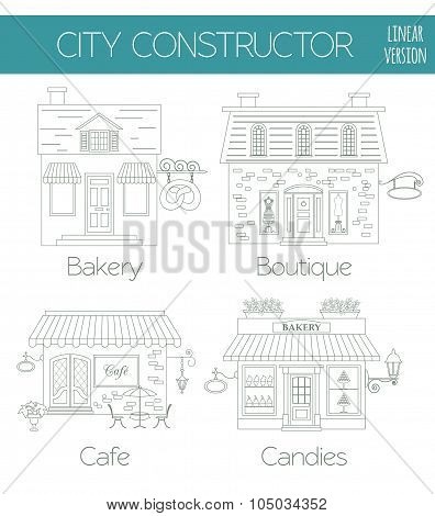 Great city map creator. House constructor.  Make your perfect city