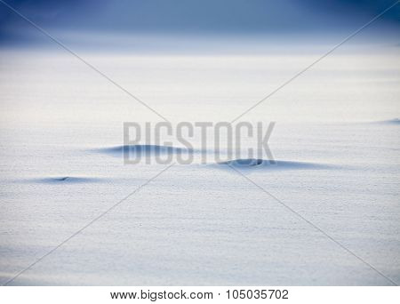 Monochrome Smooth snow texture background