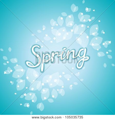 Fresh spring background