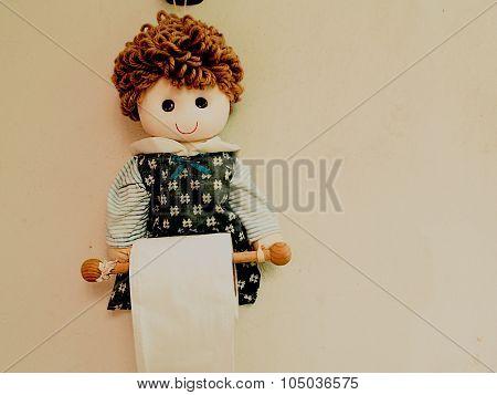 Plush Toys, Put Toilet Paper