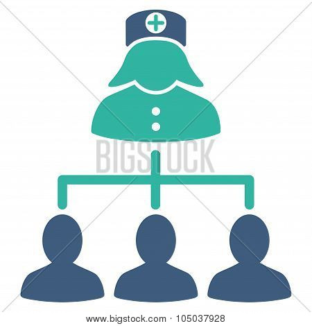 Nurse Patients Icon