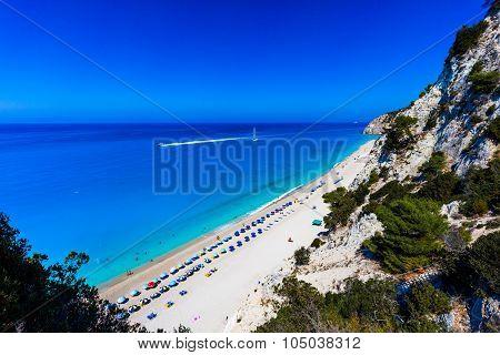 Egremni beach Lefkada