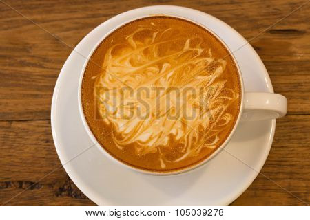 A Cup Of Hot Coffee Late