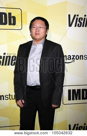 LOS ANGELES - OCT 15:  Masi Oka at the IMDB's 25th Anniversary Party at the Sunset Tower on October 15, 2015 in West Hollywood, CA