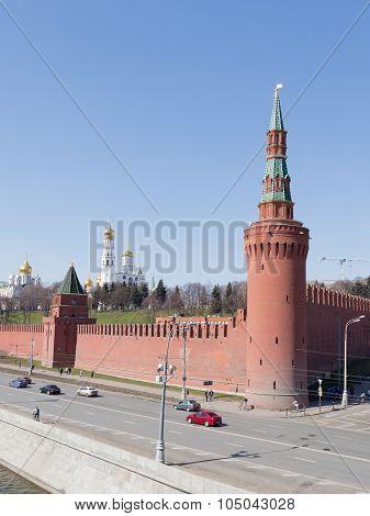 Beklemishevskaya Tower Of The Moscow Kremlin