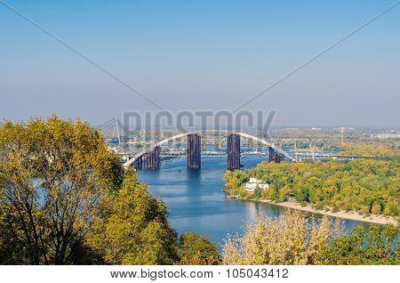 Rusty Unfinished Bridge